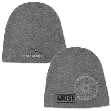 Muse Hex Hole Grey Beanie