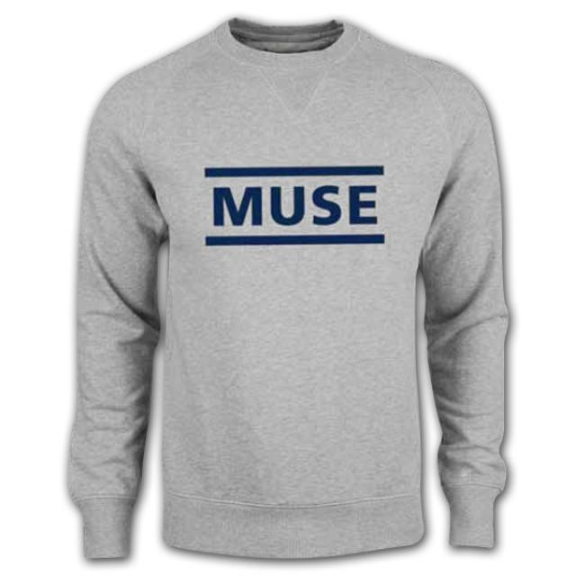 Muse Flock Logo Crew Neck Sweatshirt