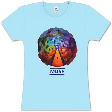 Muse Fade Resistance Light Blue Women's T-Shirt