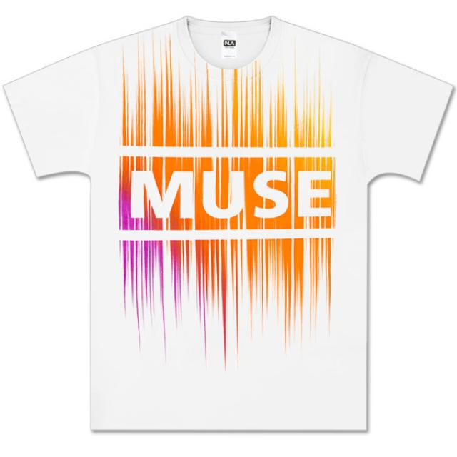 Muse Cosmic White T-Shirt