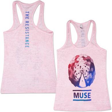 Muse Album Fade Burnout Girlie Tank