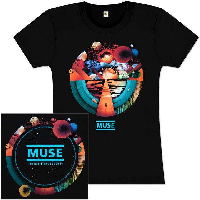 Muse Exogenesis Tour Babydoll T Shirt