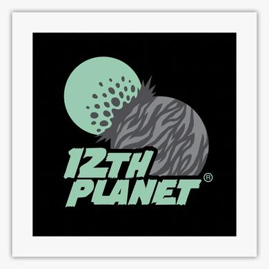 Smog Records Classic 12th Planet Logo Fine Art Print