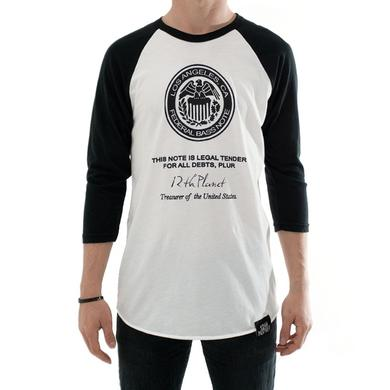 Smog Records Federal Bass Note Baseball Tee