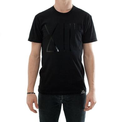 Smog Records XIIth Black Foil Logo Tee
