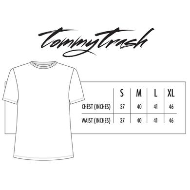Tommy Trash Just Trash It Palm Tree Tee