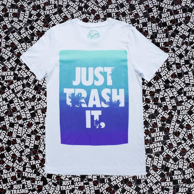 Tommy Trash Just Trash It Gradient T-Shirt
