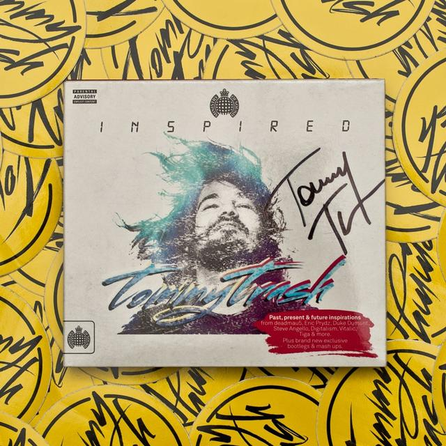 Tommy Trash Inspired Signed CD