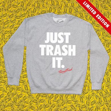 Tommy Trash Just Trash It Crewneck | Heather