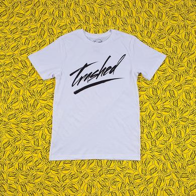 Tommy Trash Trashed Logo Tee | White