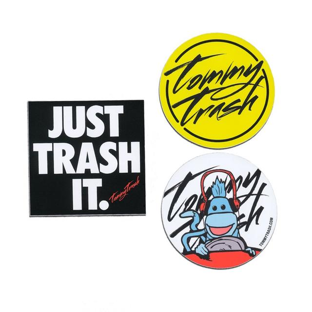 Tommy Trash Sticker Pack