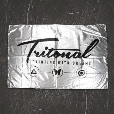 Tritonal Painting With Dreams Flag