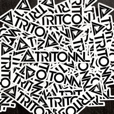 TRITONAL LOGO STICKERS