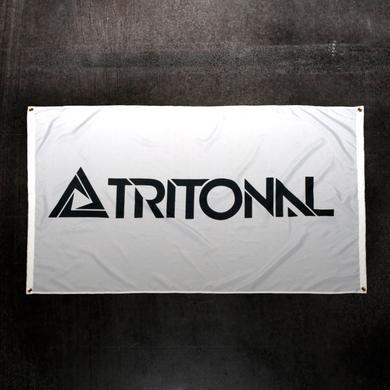 WHITE TRITONAL FLAG