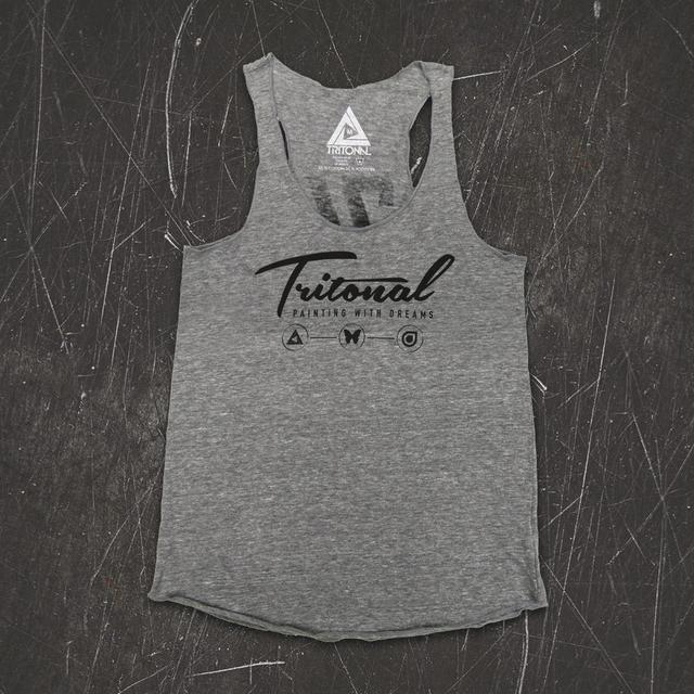 Tritonal Painting With Dreams Racerback Tank (Pre Order)