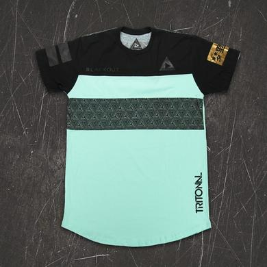 Tritonal Turquoise Jersey Tee (Pre Order)