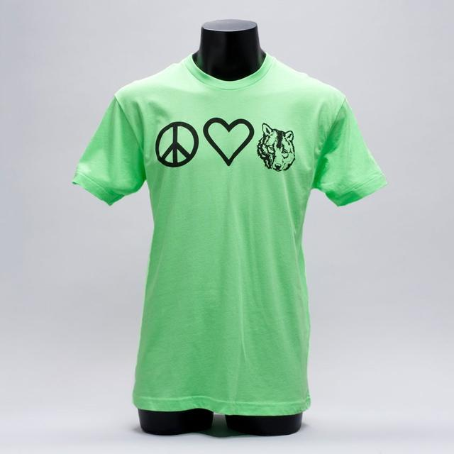 Wolfgang Gartner Peace Love and Wolfie Tee