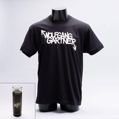 Wolfgang Gartner Unholy Candle + Logo Tee Bundle