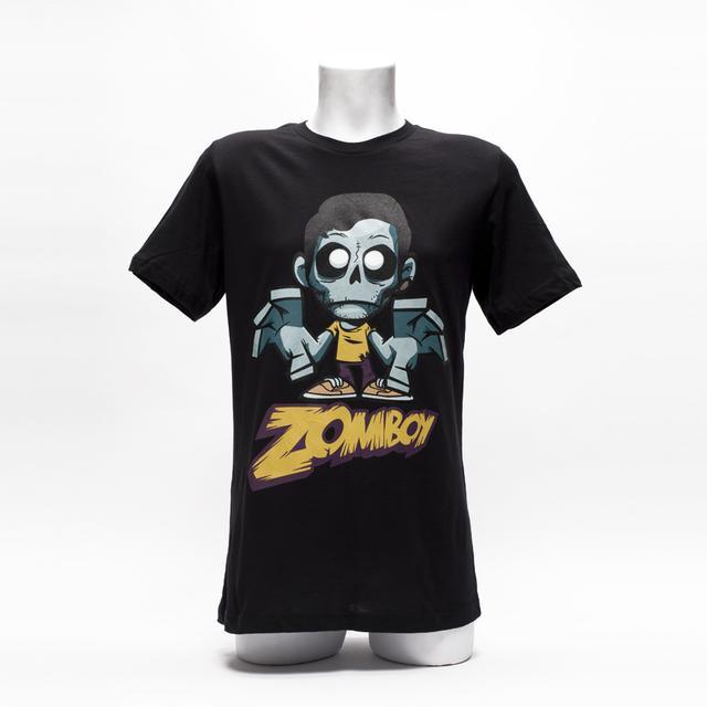 ZOMBOY SHIRT // BLACK