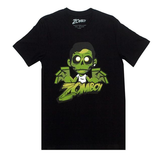 Zomboy Green Logo T-Shirt (Signed)