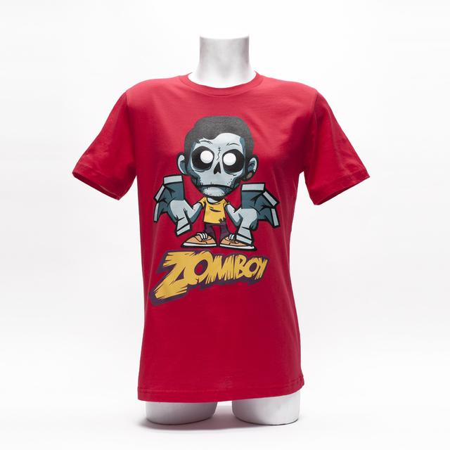 ZOMBOY SHIRT // RED