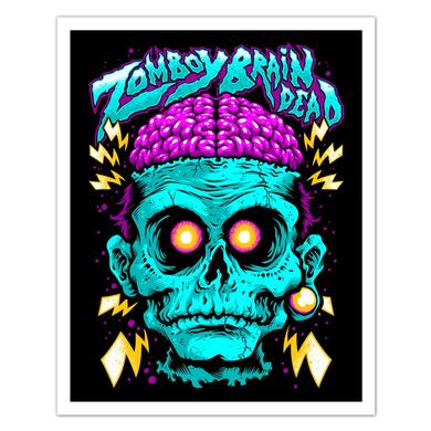 Zomboy Brain Dead Art Print