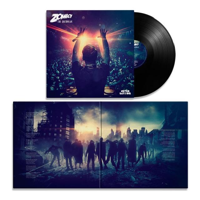 Zomboy - The Outbreak Vinyl LP (Autographed)