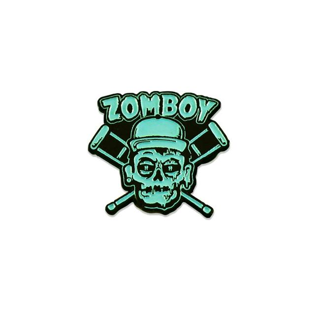 Zomboy Headbangers Pin