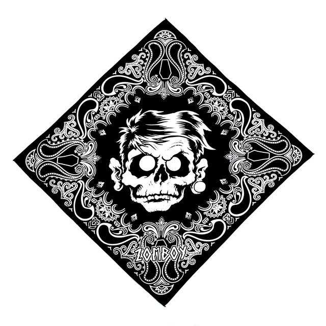 Zomboy Paisley Coffin Bandana