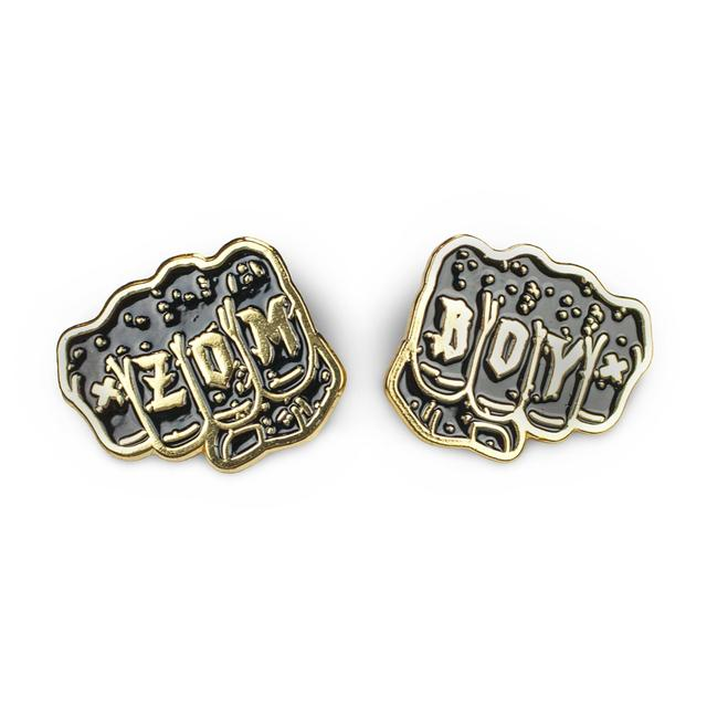 Zomboy Fist Pin Set