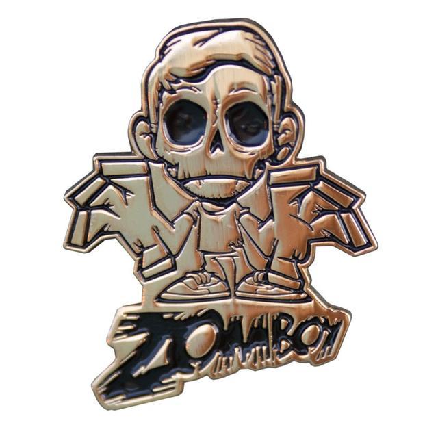 Zomboy Logo Pin