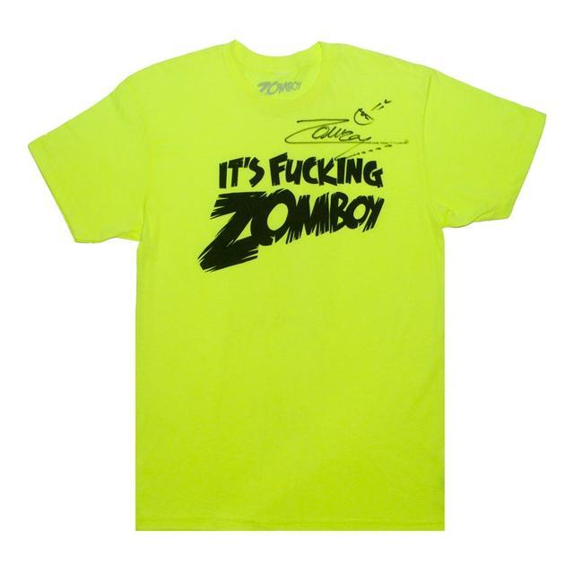 It's Fucking Zomboy T-Shirt (Signed)