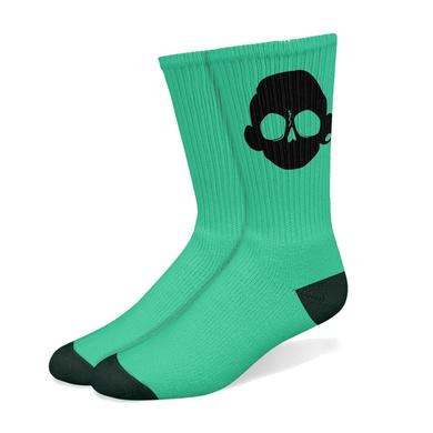 Zomboy Green/Black Socks