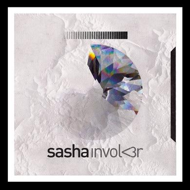 Sasha Merch Involv3r Album Art