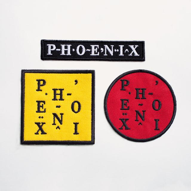PHOENIX | EMBROIDERED PATCHES