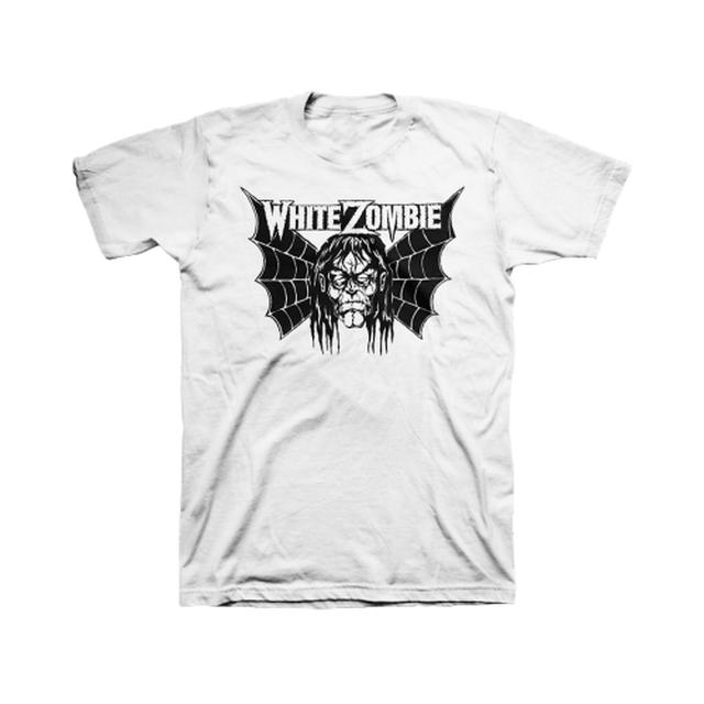White Zombie Spider Wing T-Shirt