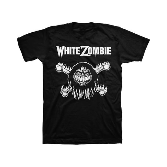 White Zombie Monster Bones T-Shirt