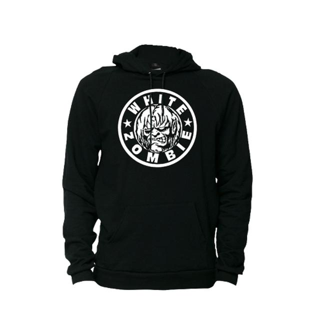 White Zombie Classic Logo Pullover Hoodie