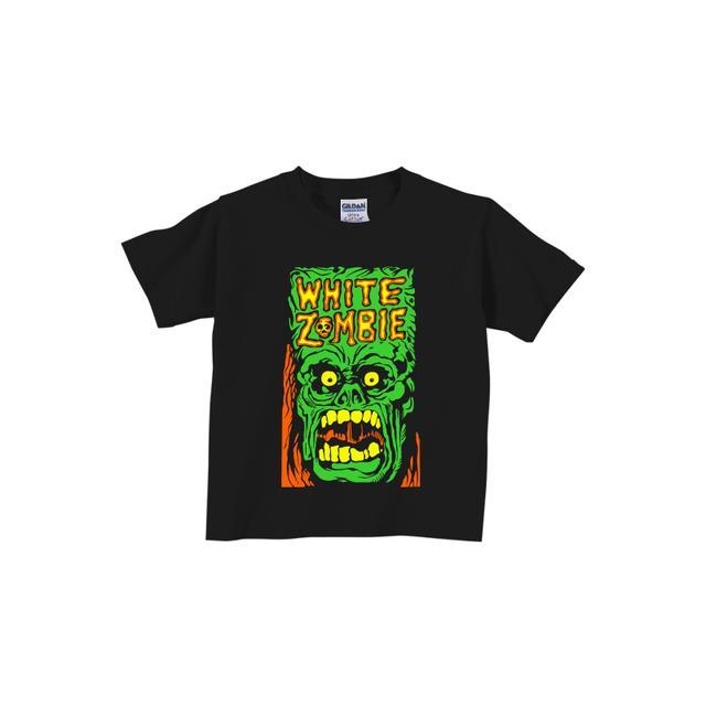 White Zombie Monster Yell Toddler T-Shirt