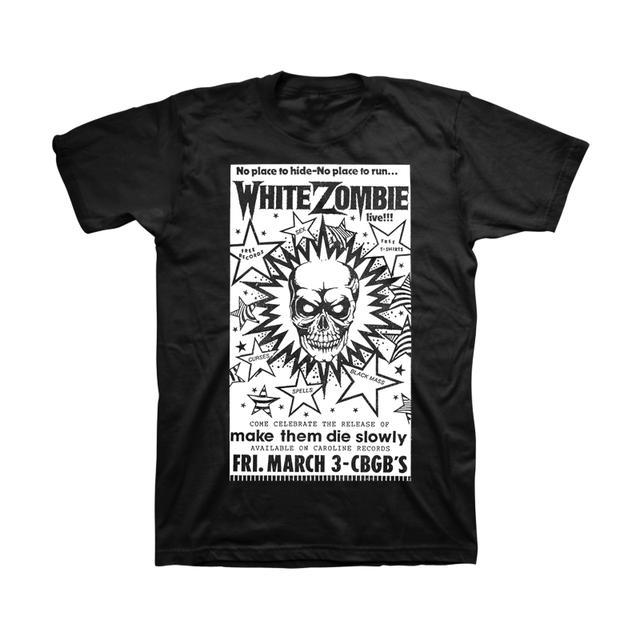 White Zombie CBGB T-Shirt