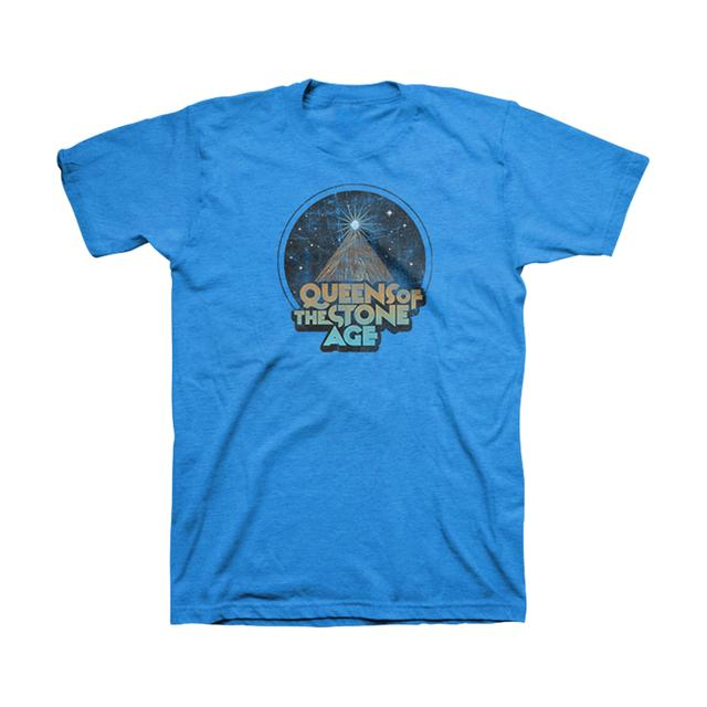 Queens Of The Stone Age Space Mountain Cotton/Poly Tee