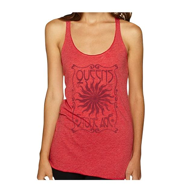 Queens Of The Stone Age Sun Master Girls Tank