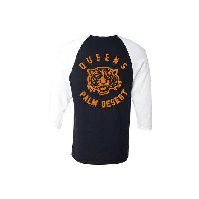Queens Of The Stone Age Tiger Baseball Tee