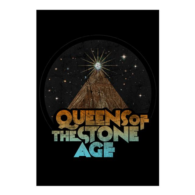 Queens Of The Stone Age Space Mountain Wall Flag