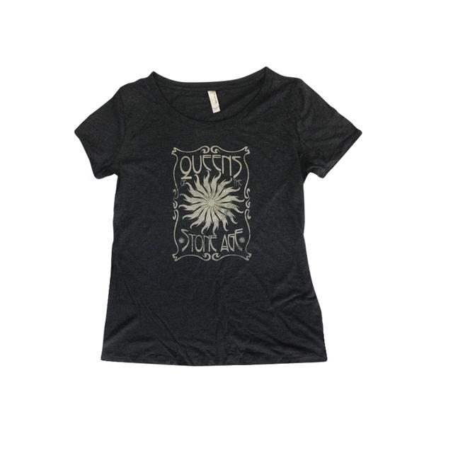 Queens Of The Stone Age Sun Master Womens Scoop Neck