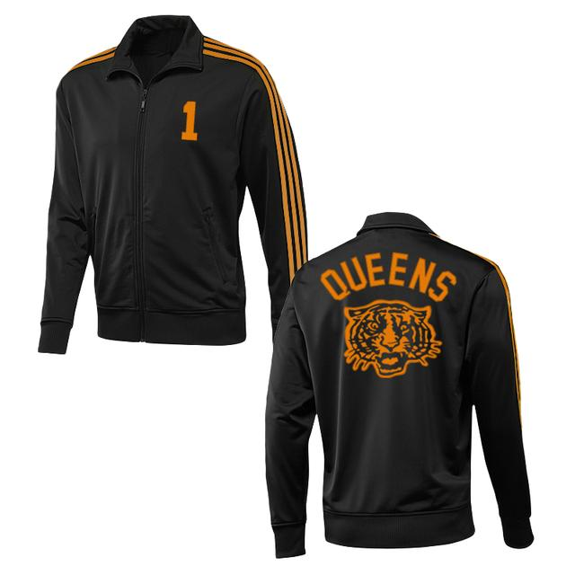 Queens Of The Stone Age Tiger Track Jacket (Black w/ Orange)