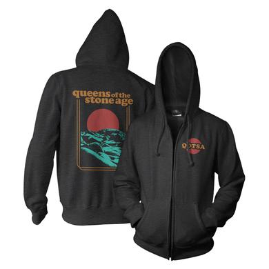 Queens Of The Stone Age Sun Zip-Up Hoodie
