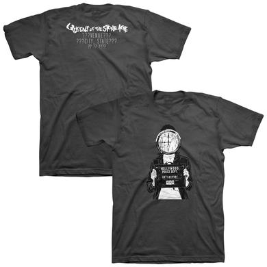 Queens Of The Stone Age Randomly Selected Tour Tee
