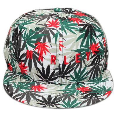 Bob Marley LEAF PRINT HAT