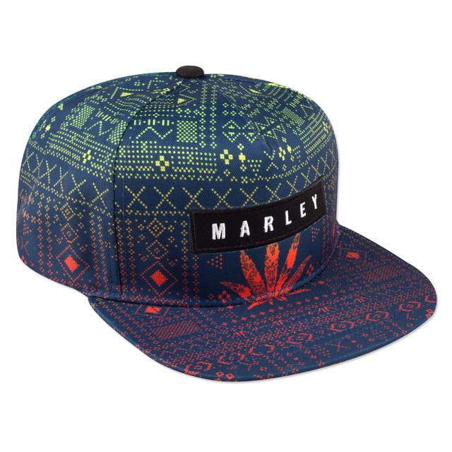 Bob Marley Rasta Aztec Trucker Cap